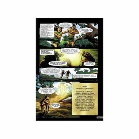 Biblia komiks zaczyna się bitwa