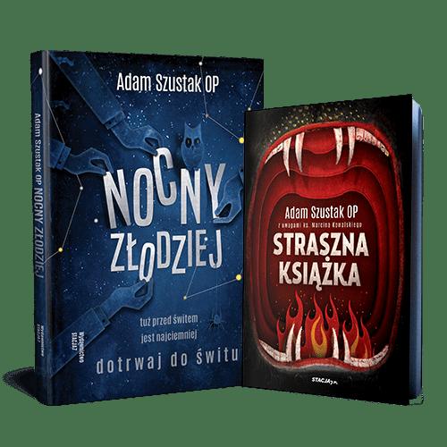 STRASZNY PAKIET Nocny Złodziej + Straszna książka