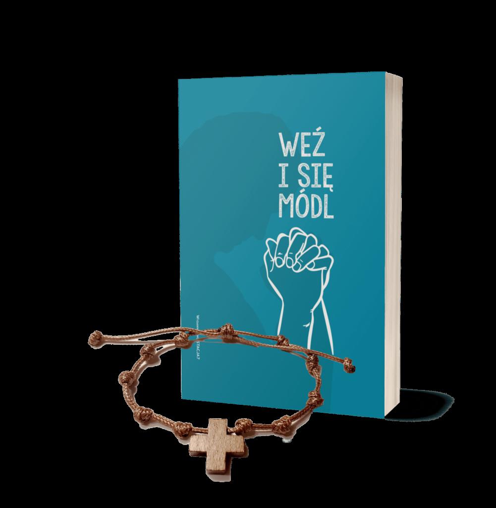 """Różaniec Mężczyzny z Nieba Rodem+ Modlitewnik """"Weź i się módl"""""""