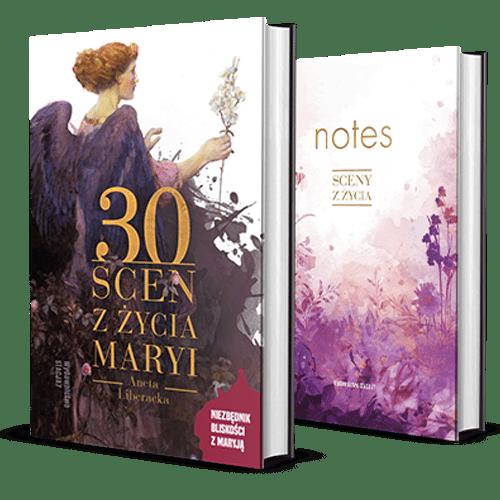 """PAKIET 30 Scen zżycia Maryi + notes """"Sceny zżycia"""""""