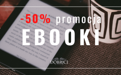 EBOOKI – promocja cenowa -50% !