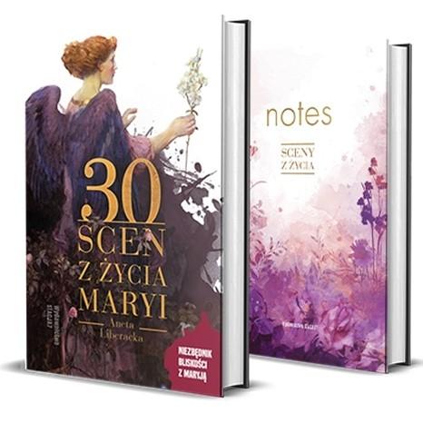 PAKIET 30 Scen z życia Maryi – A. Liberacka KSIĄŻKA+NOTES